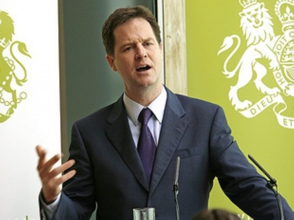 Clegg: 'I know that being in this coalition still isn't always easy'