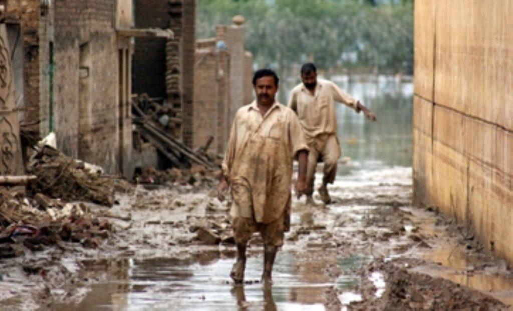 The flooding has devastated swathes of Pakistan