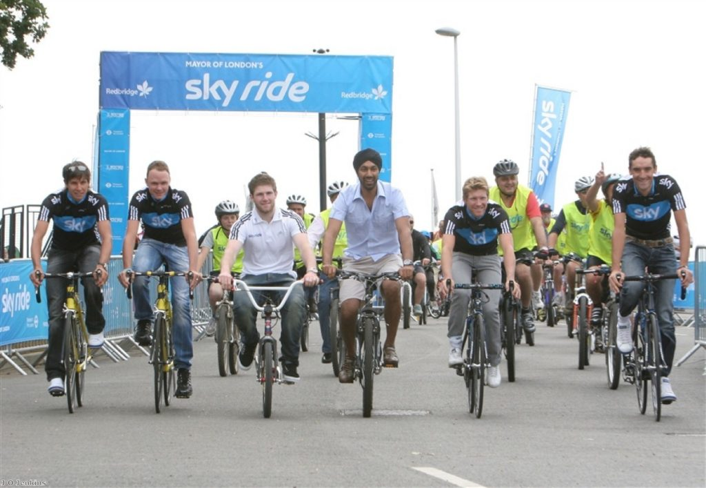 Boris Johnson is an avid cyclist