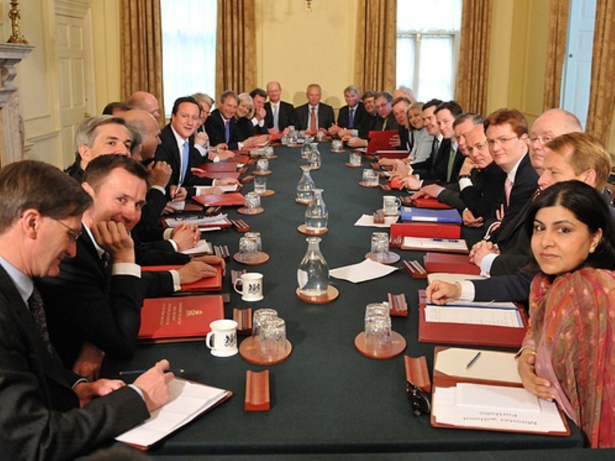 Lots of money: Union research highlights Cabinet pensions.