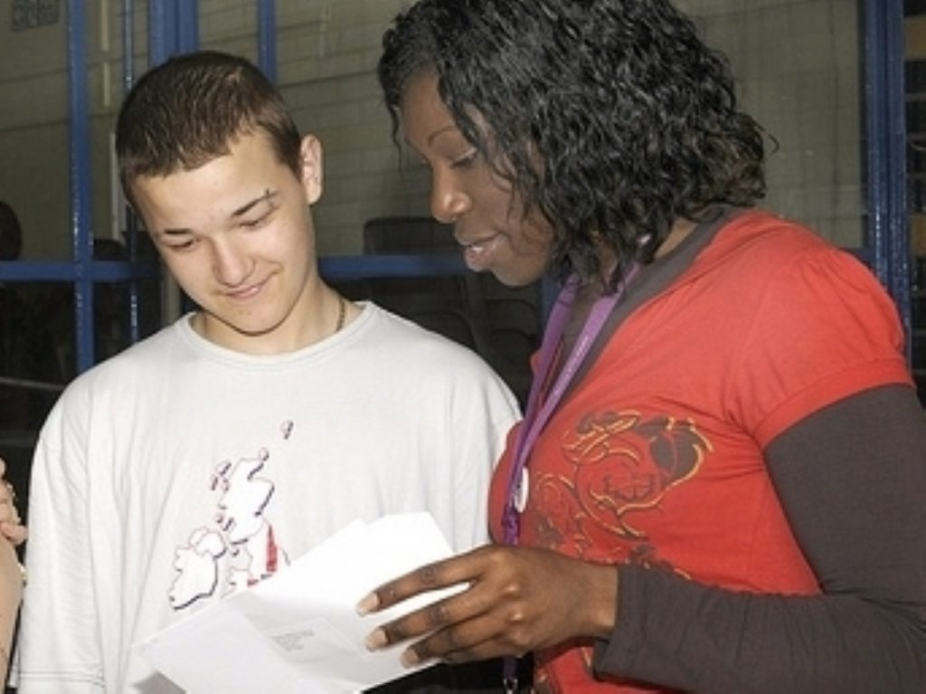 A-level results show 0.1% national improvement