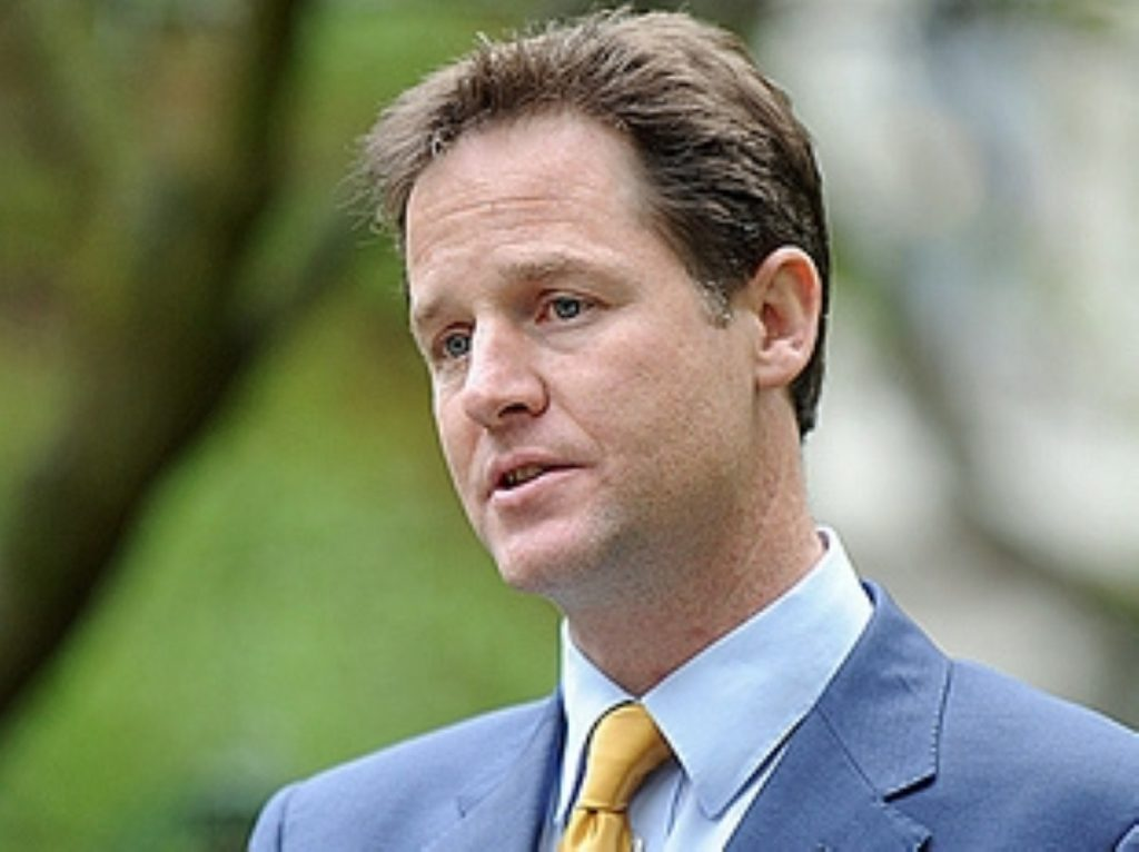 Clegg: We did not win the election