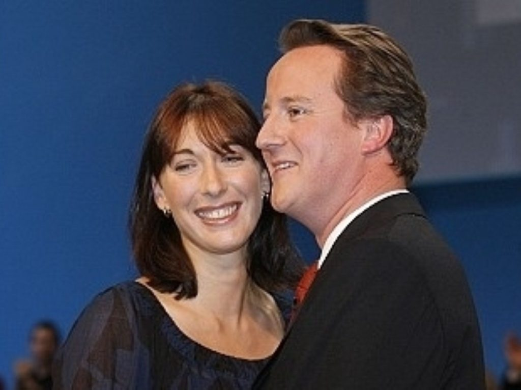 David and Samantha Cameron both thought their daughter was with the other parent