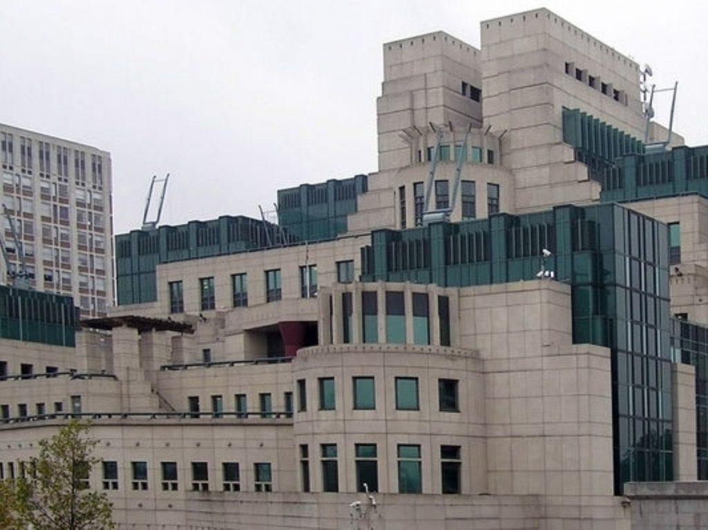 The murdered man was found less than a mile from MI6 HQ
