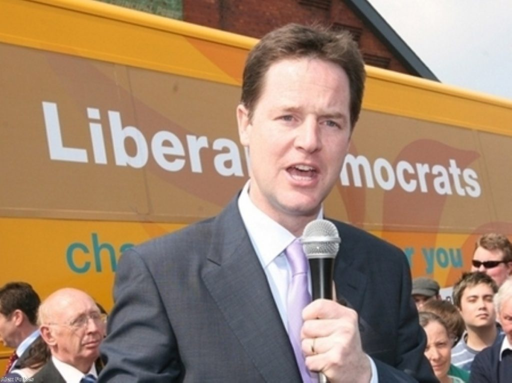 Still on message? Clegg maintains good approval ratings among Lib Dem members