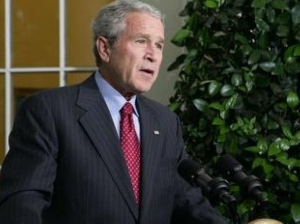 President Bush remains unrepentant over his support for waterboarding terrorism suspects