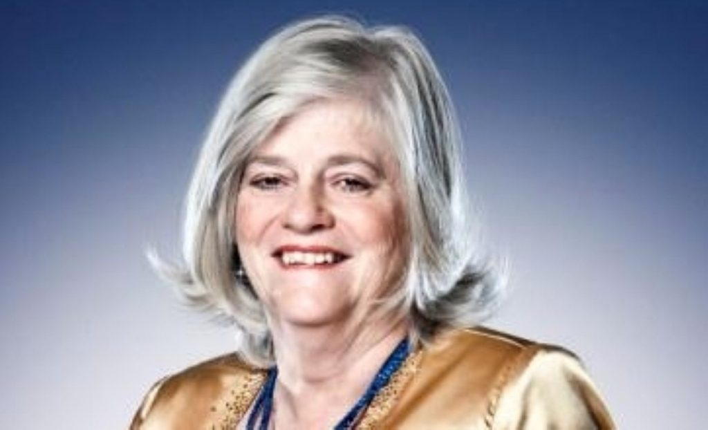 Ann Widdecombe's next challenge may involve short, frilly dresses