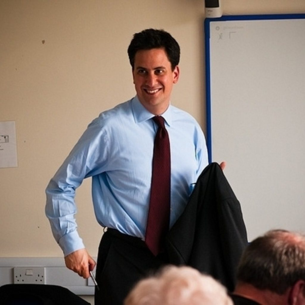 Miliband is in better shape than he appears