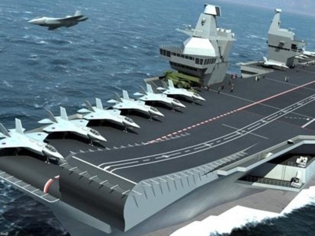 UK's new aircraft carrier won't be operational until 2020