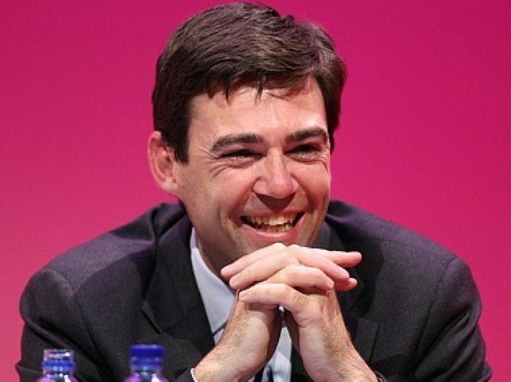 Labour's election coordinator Andy Burnham