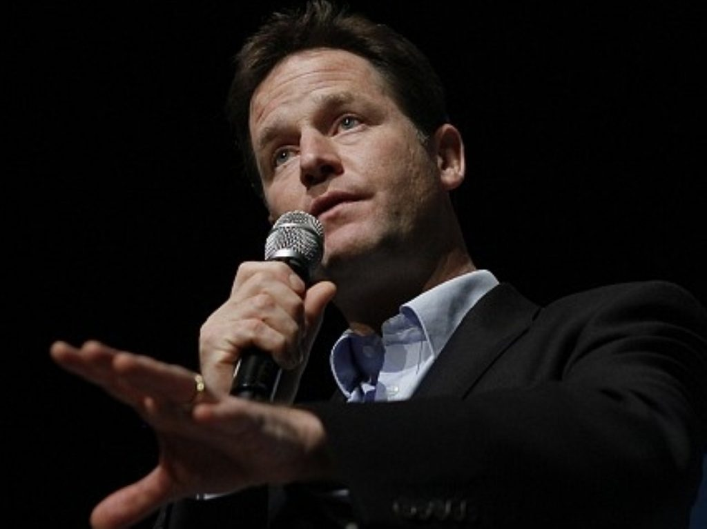 Clegg's first conference speech as deputy prime minister was lacking in triumphalism