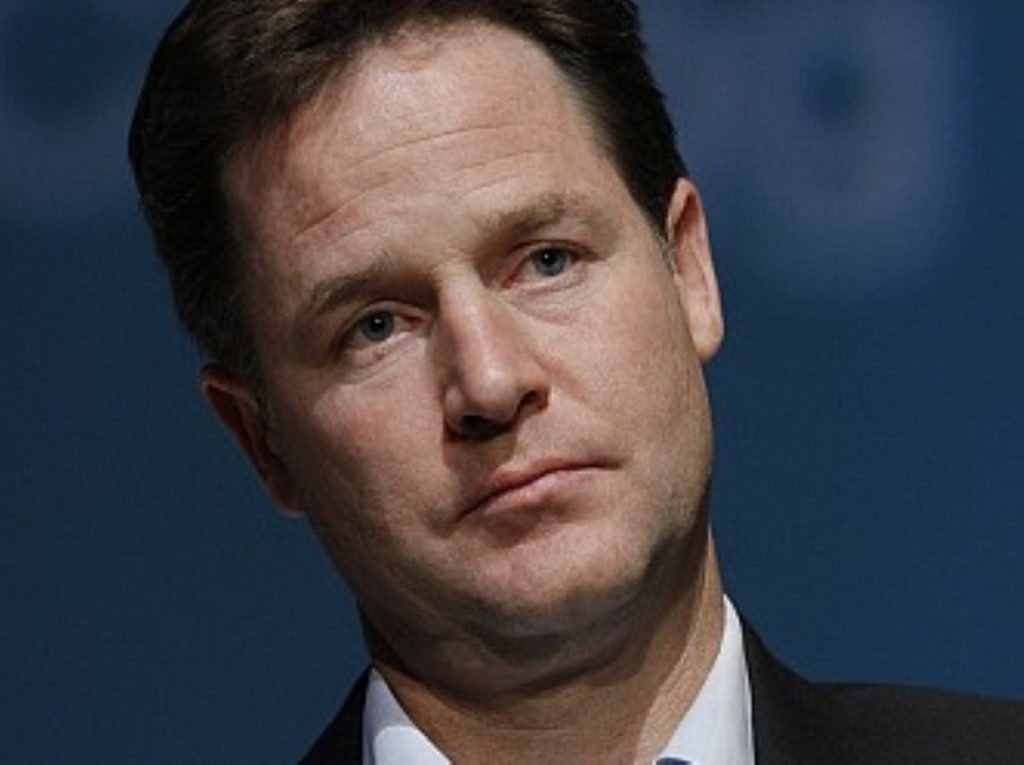 Nick Clegg: Lib Dems are 'the party of in'
