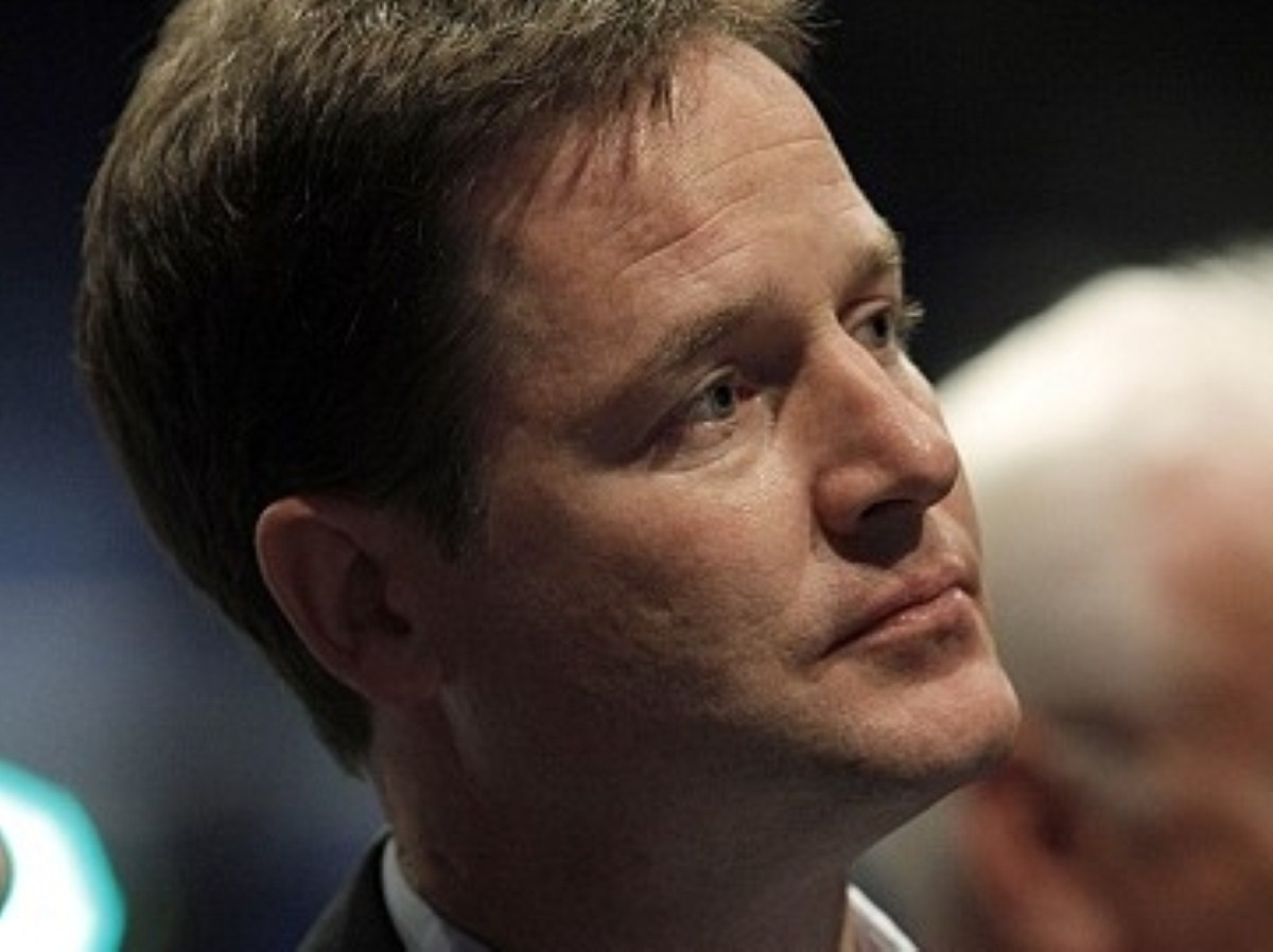 Clegg's speech distances his party from Conservatives
