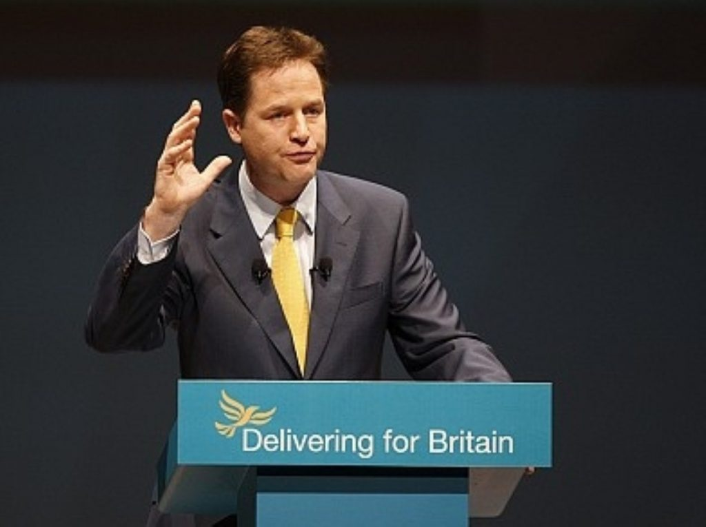 Clegg 'third most influential right-winger'