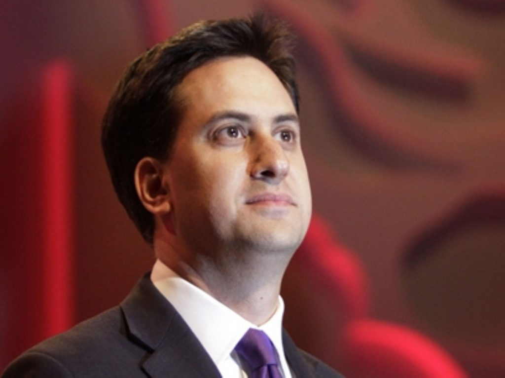 Ed Miliband said the government was adopting the 'politics of division' from the 1980s.