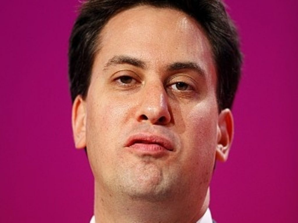 Miliband: 'The whole House will notice he didn't withdraw that.'