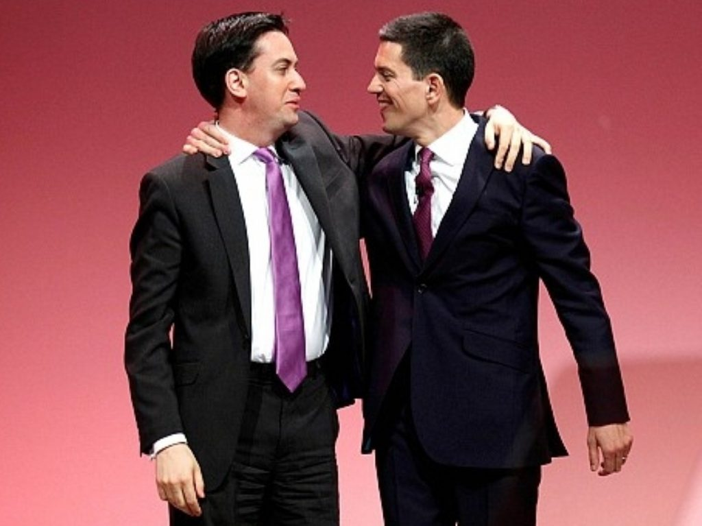 The odd couple - but at least Ed has some interesting ideas.