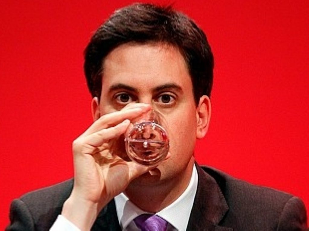 A radical constrained by his partner: Miliband gives up on new ideas