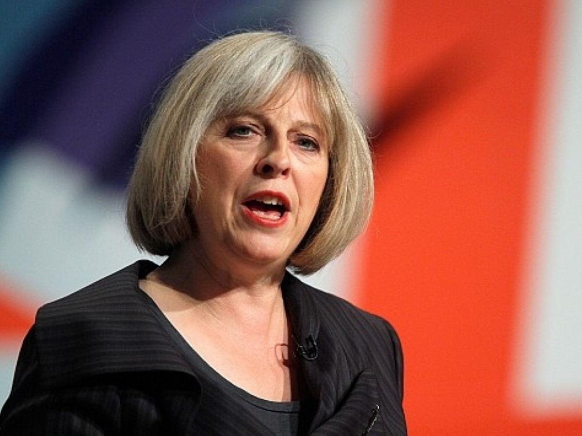 May argued immigration was out of control under Labour