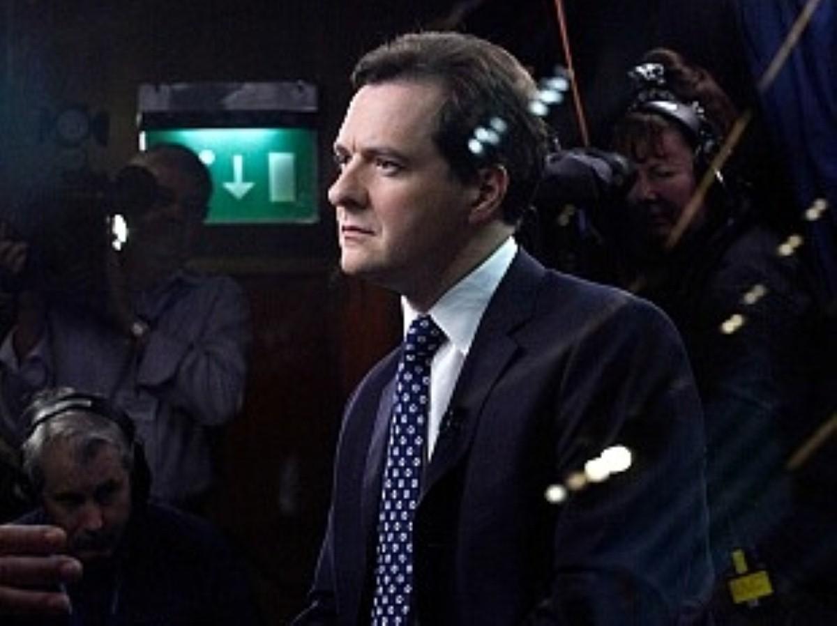 George Osborne spoke in Manchester today