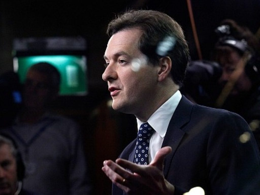 George Osborne will take any positive growth he can get