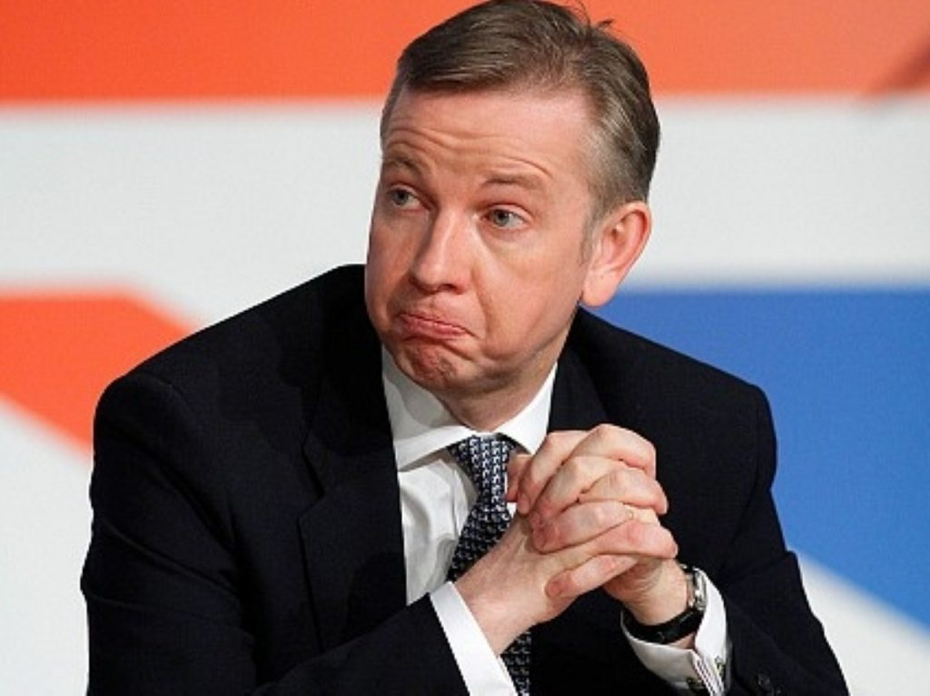 Gove backed down in the face of Lib Dem protests