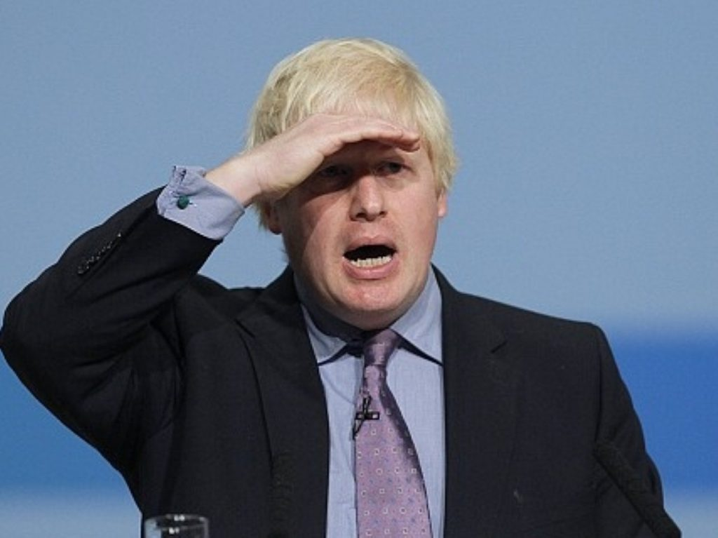 """Boris Johnson calls for a 'Tory' London mayor - """"no mucking about"""""""