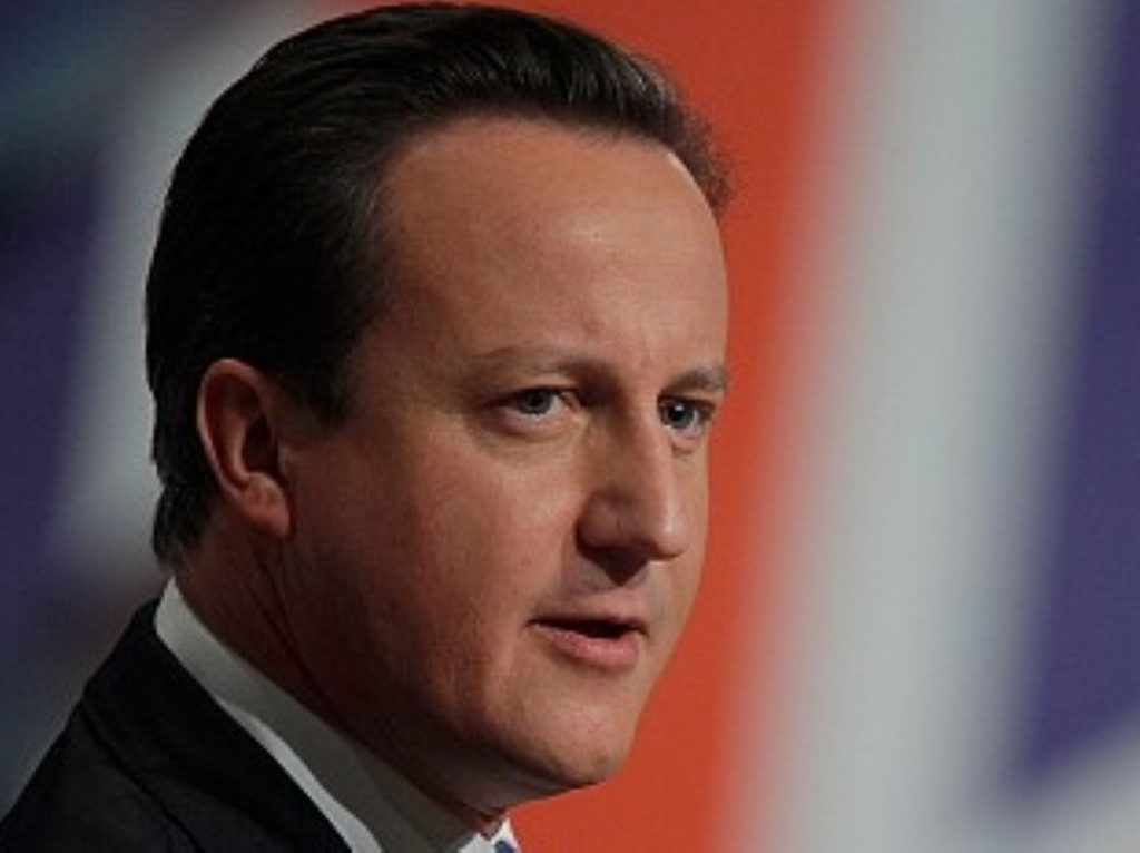 """David Cameron focuses on """"progress"""" in his new year's message"""