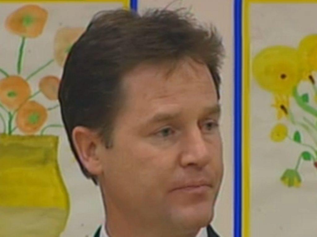 Nick Clegg speech in full