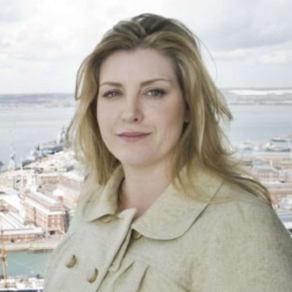 Penny Mordaunt will appear on January 18th's Splash! programme