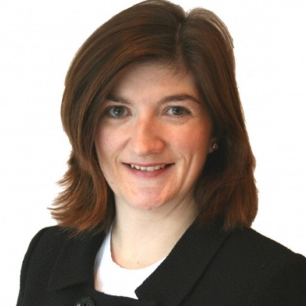 Nicky Morgan has been Conservative MP for Loughborough since 2010.
