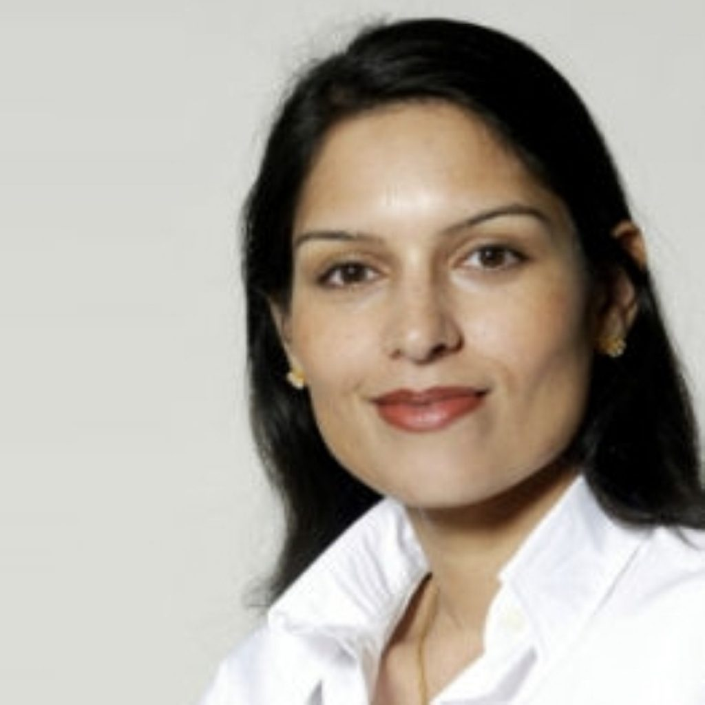 Priti Patel is unlikely to be impressed by her father's candidacy.