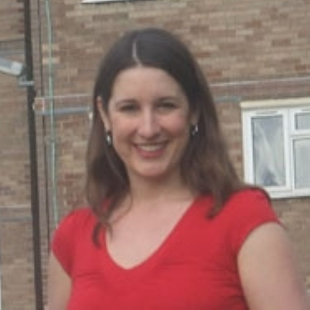 Rachel Reeves, one of Labour's rising stars.