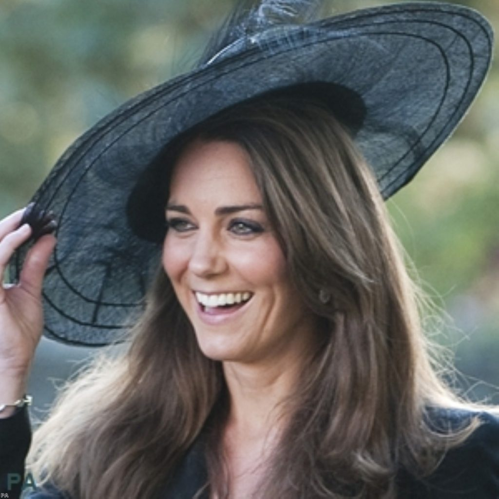 Kate on a more public occasion