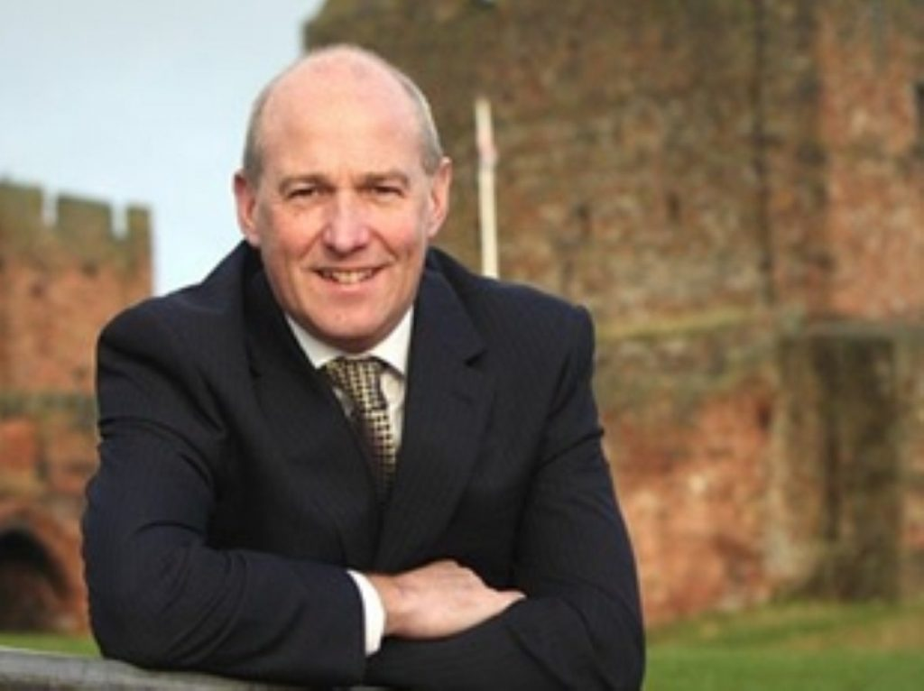 John Stevenson is the Conservative Member of Parliament for Carlisle
