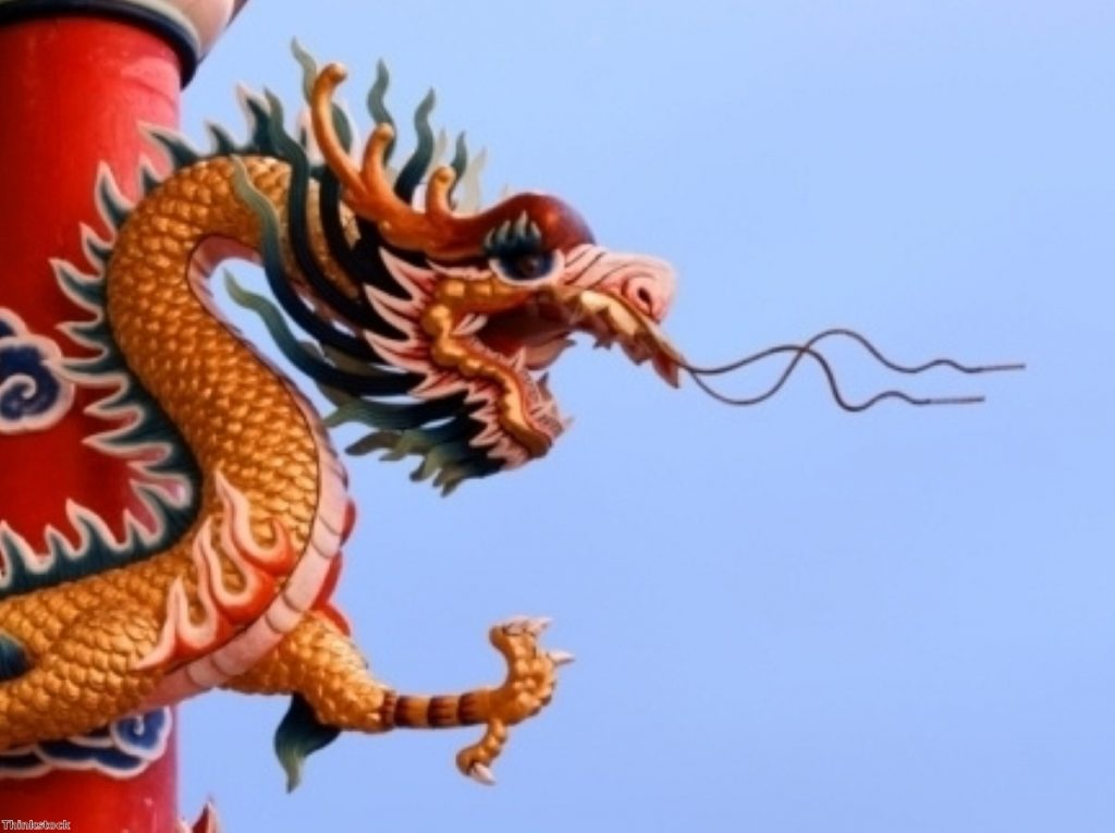 The Chinese dragon commands economic respect. But will the UK delegation dare to raise human rights concerns?