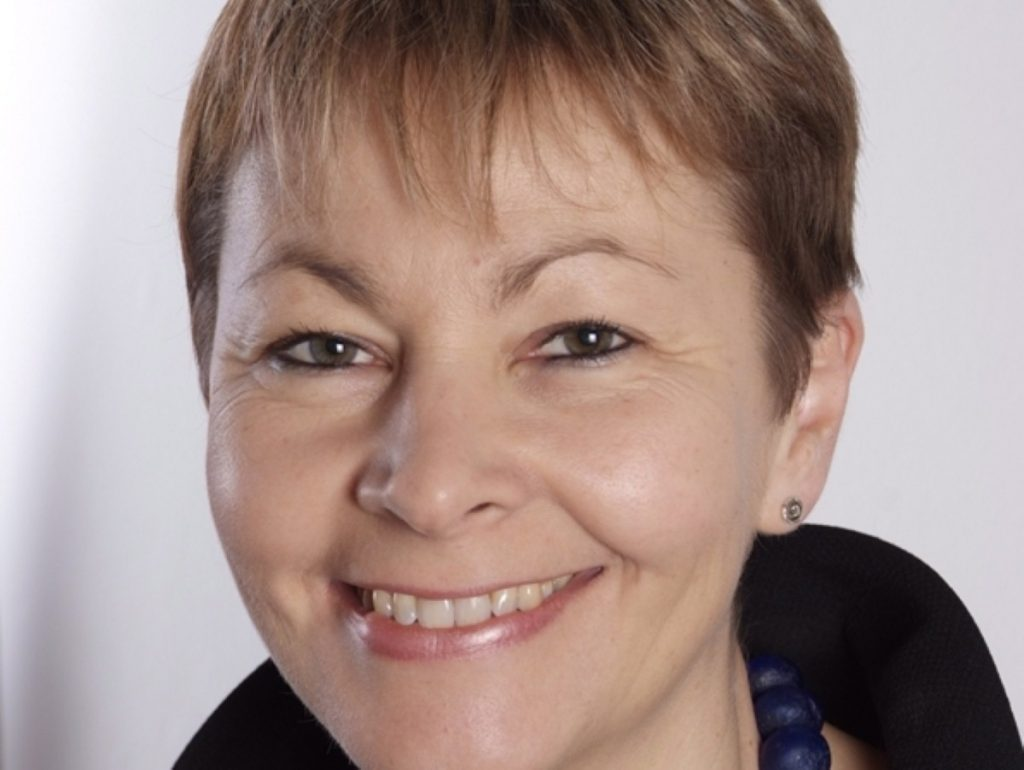 Green leader Caroline Lucas is the only MP the party has in the Commons.