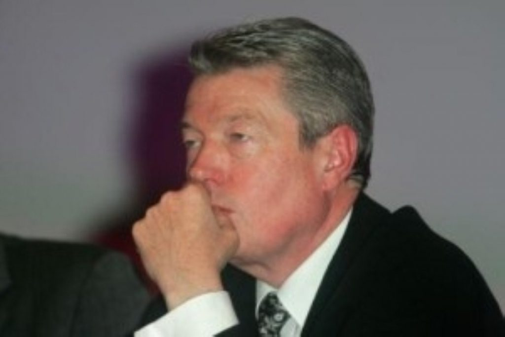 Alan Johnson is backing Gordon Brown to be the next Labour leader