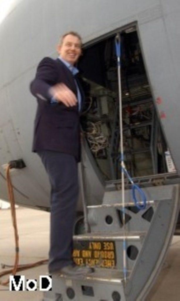 Tony Blair says he will not give up long-haul flights