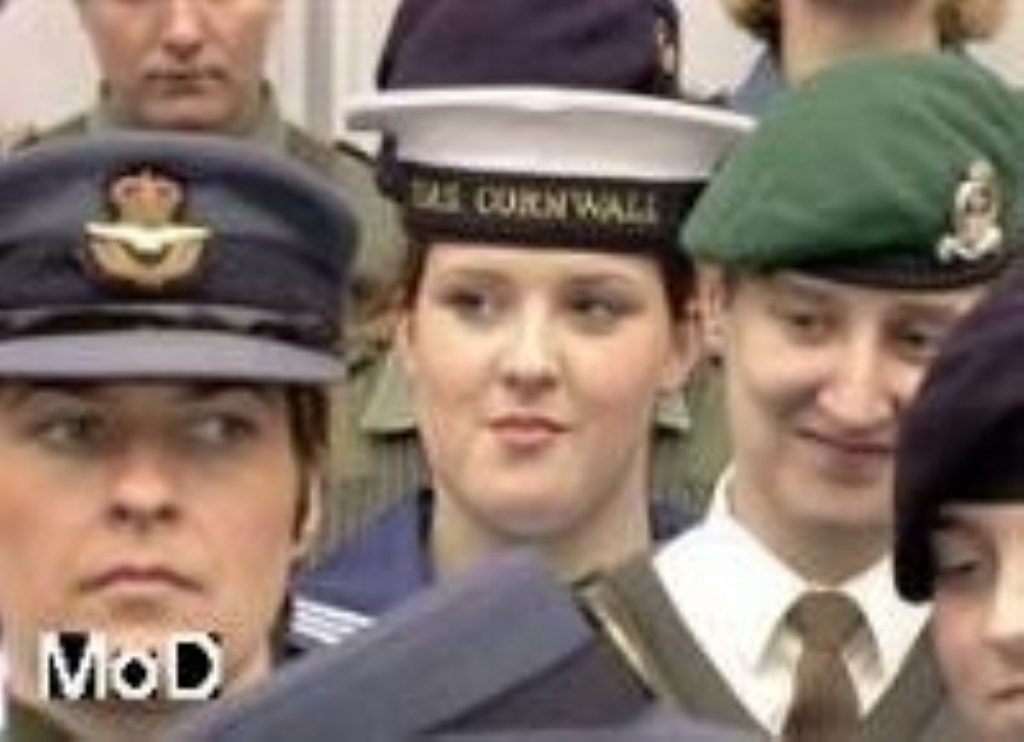 MoD admits widespread sexual harrassment in the armed forces