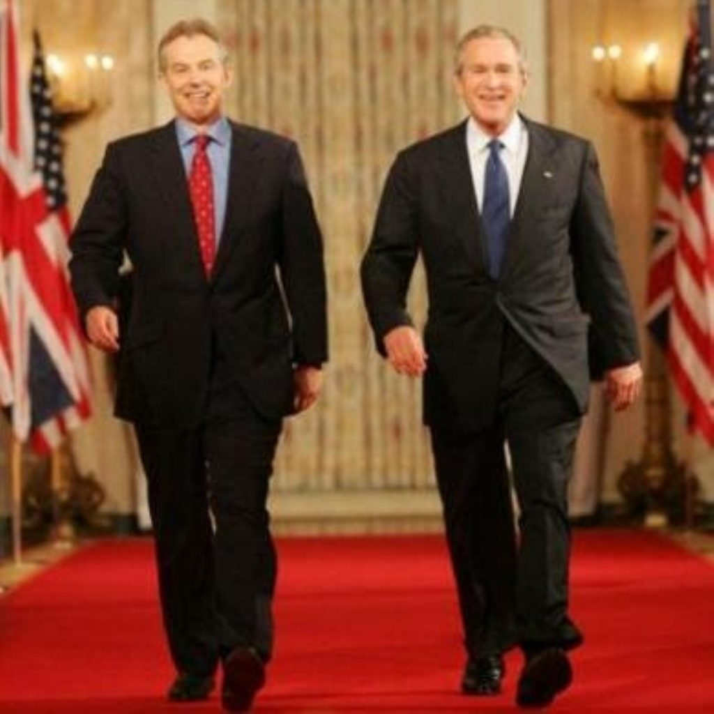 Tony Blair has followed George W Bush into foreign policy failures, a new report finds