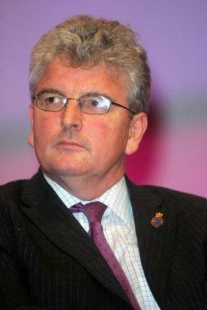 The defence secretary, Des Browne
