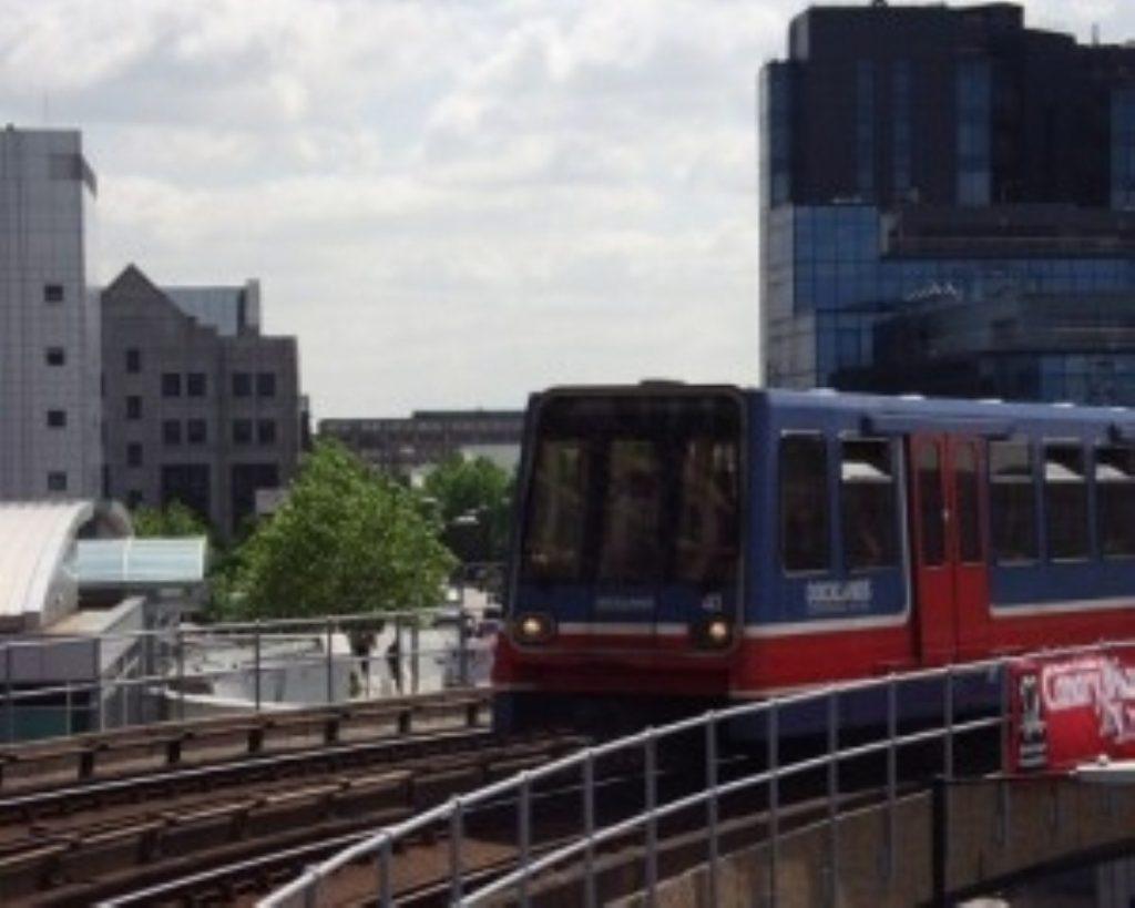 The Dockland Light Railway (DLR)