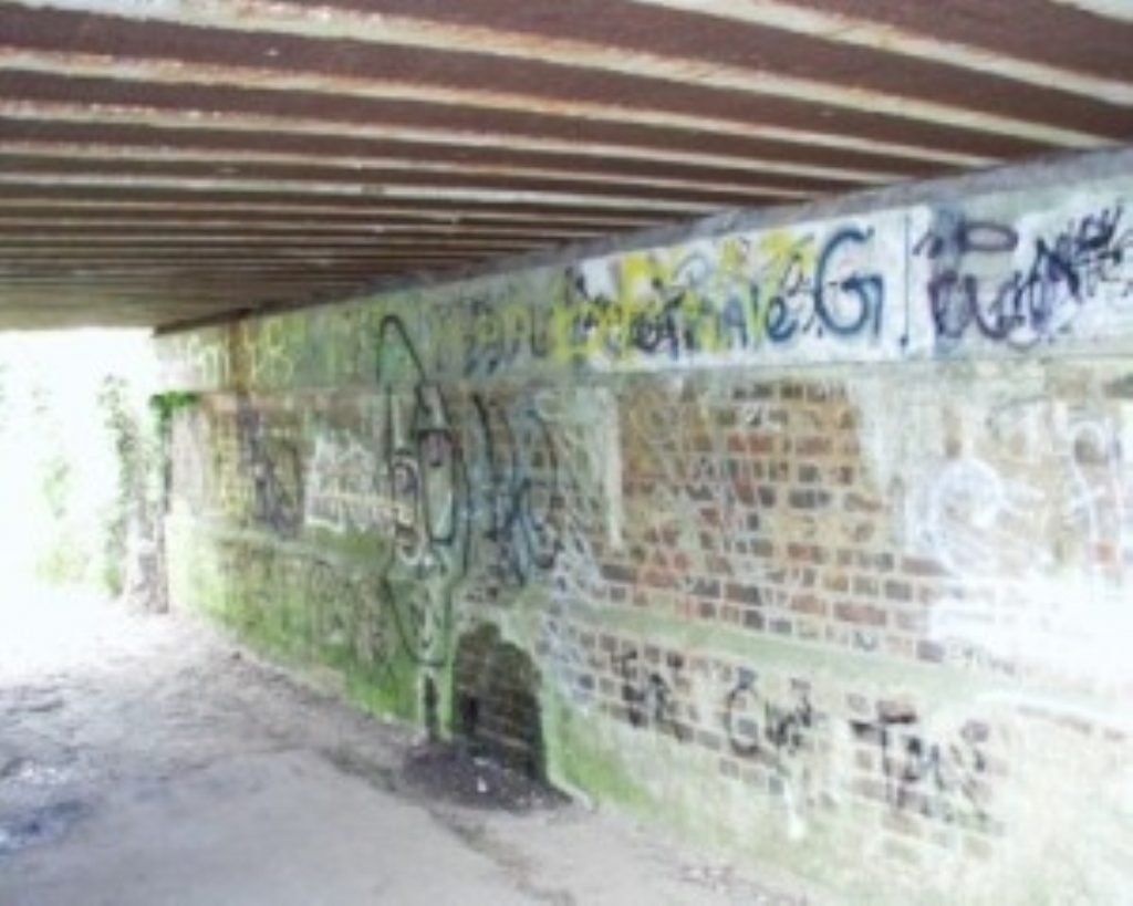 If all EDMs were actually graffiti, they would probably look something like this