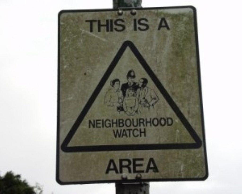 Crimefighting reinforcement for neighbourhood watch