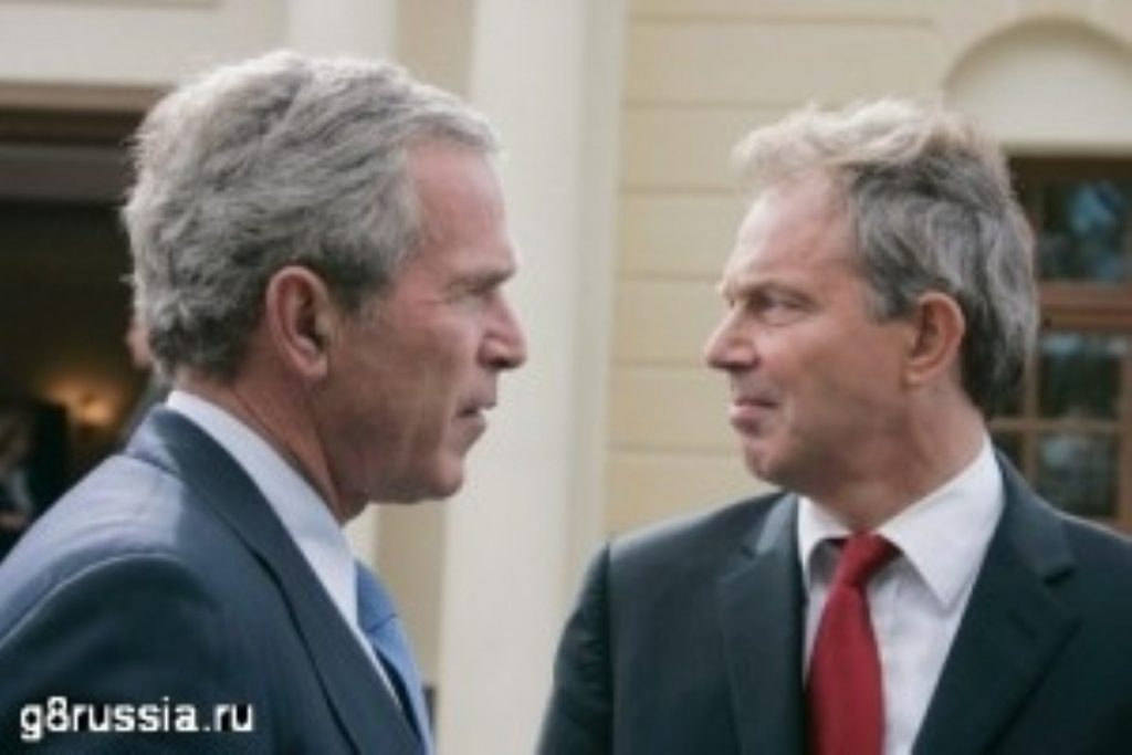 Blair defends alliance with Bush