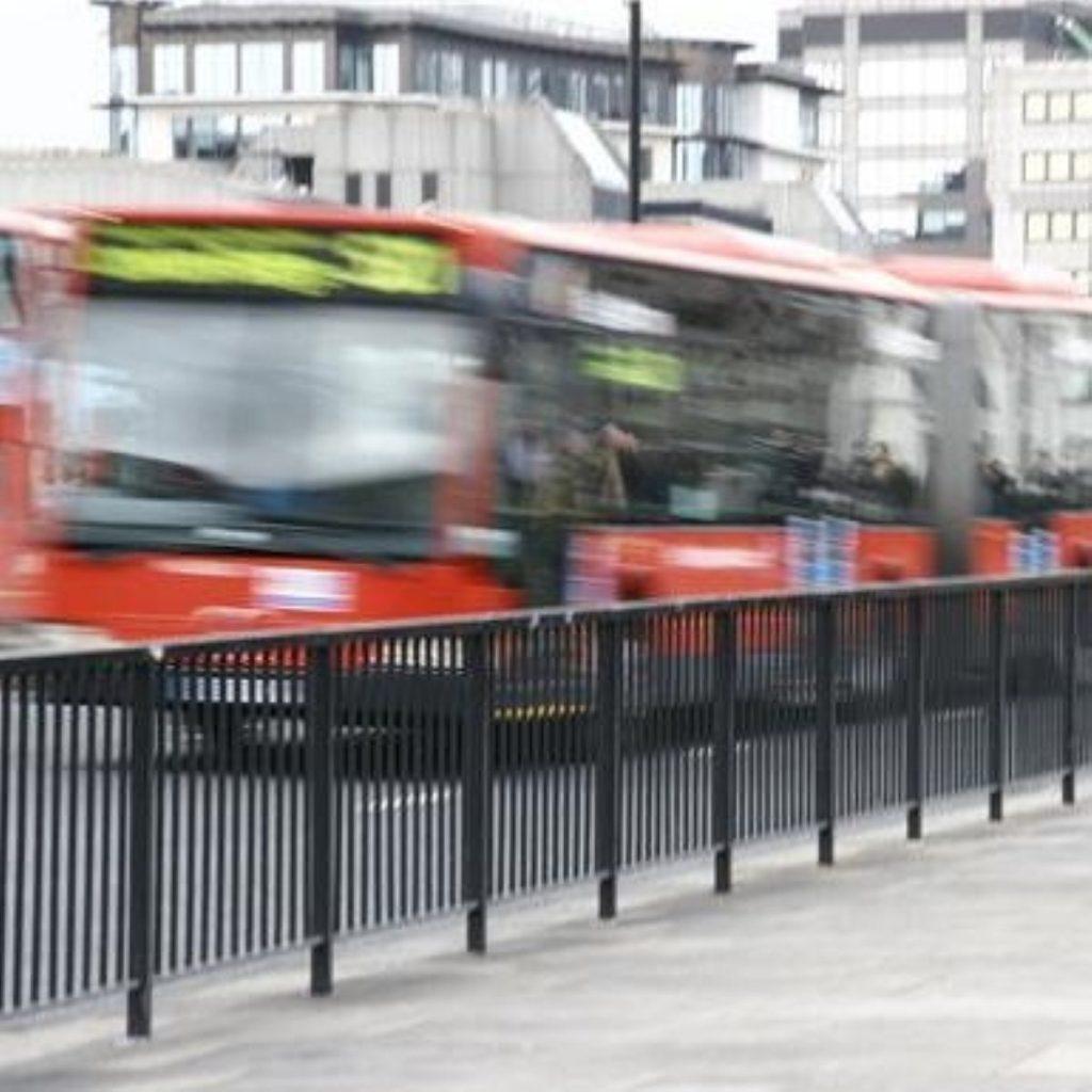 London buses attract Boris Johnson's attention