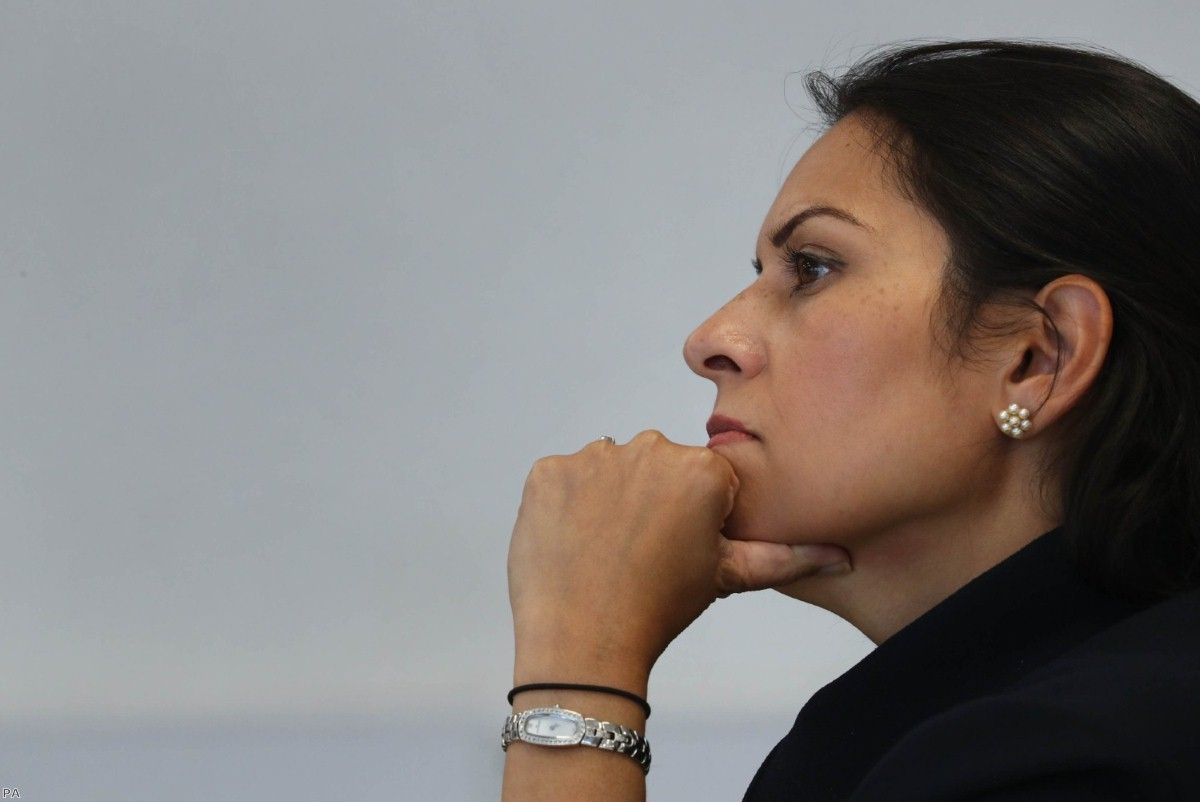 Priti Patel: New asylum legislation on its way.