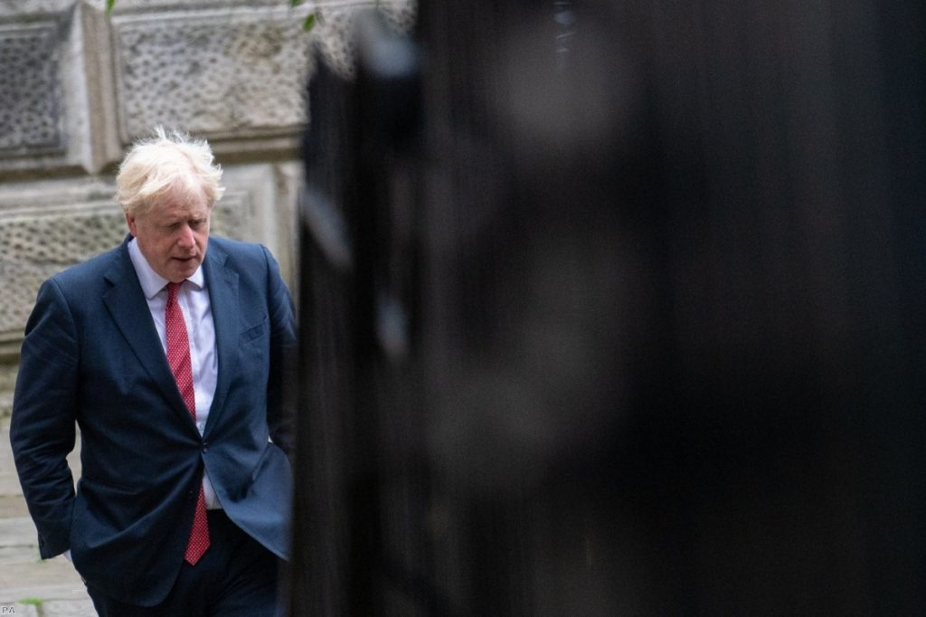 Johnson: Plan to sabotage withdrawal agreement will create sense of Britain as an unreliable negotiating partner.