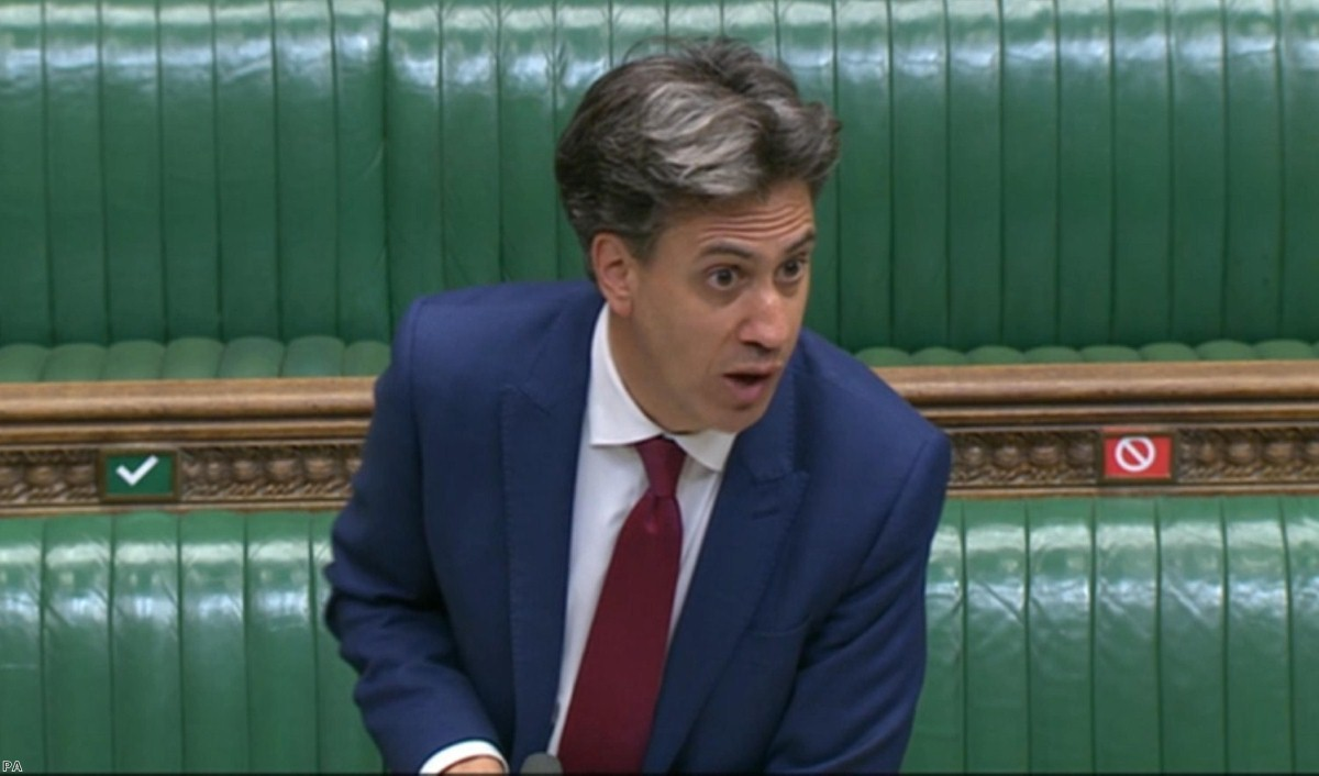 Ed Miliband's well-received speech saw him demand the prime minister justify his comments, but he refused to do so.